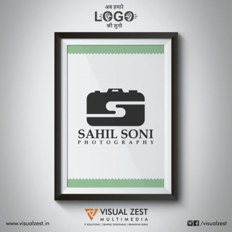 <h4>Sahil Soni Photography<br/>Logo Design</h4>