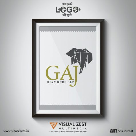 <h4>Gaj Diamonds LLP<br/>Logo Design</h4>