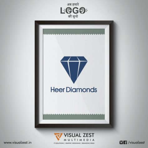 <h4>Heer Diamonds<br/>Logo Design</h4>