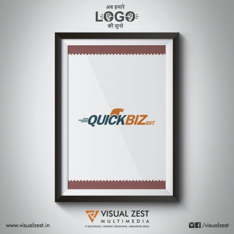 <h4>QuickBiz GST Mobile Application<br/>Logo Design</h4>