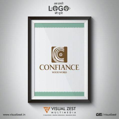 <h4>Confiance Wood Works<br/>Logo Design</h4>