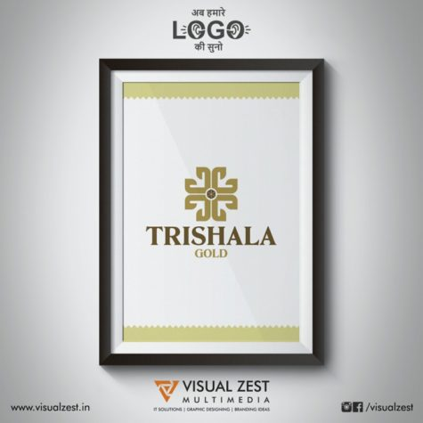 <h4>Trishala Gold<br/>Logo Design</h4>