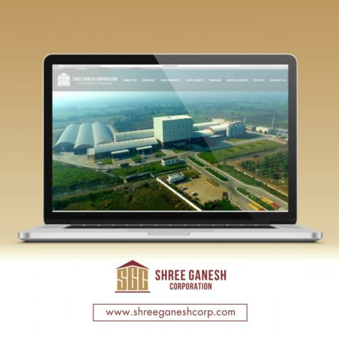 <h4>Shree Ganesh Corporation<br/> Web Design</h4>