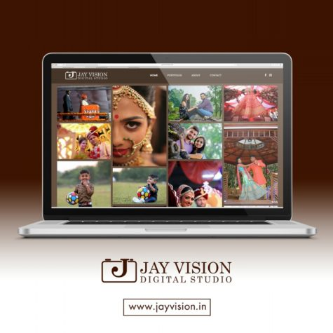 <h4>Jay Vision Digital Studio<br/> Web Design</h4>