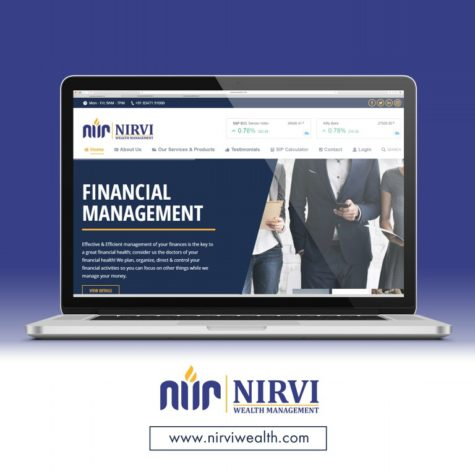 <h4>Nirvi Wealth Management<br/> Web Design</h4>